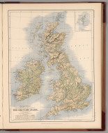 The Mountains, Table Lands, Plains & Valleys of the British Isles.
