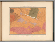 Plate 2. Geological Map of the Washoe Mining District.