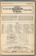 Title Page: Railway Distance Maps of America