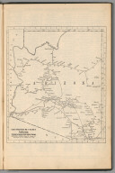 Railway Distance Map of the State of Arizona
