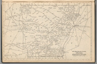 Railway Distance Map of the State of Arkansas