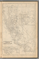 (Continued) Railway Distance Map of the State of California