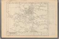 Railway Distance Map of the State of Colorado