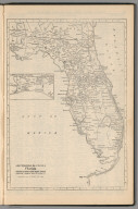 (Continuation) Railway Distance Map of the State of Florida