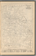Railway Distance Map of the State of Georgia