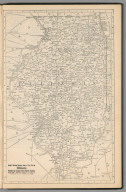 (Continued) Railway Distance Map of the State of Illinois