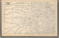 Railway Distance Map of the State of Kansas