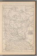 (Continues) Railway Distance Map of the State of Minnesota