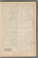 Railway Distance Map of the State of Mississippi
