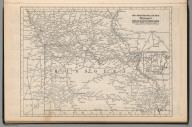 Railway Distance Map of the State of Missouri