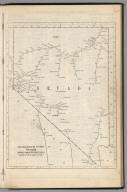 Railway Distance Map of the State of Nevada