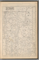 Railway Distance Map of the State of New Hampshire