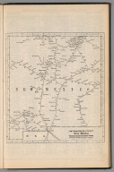 Railway Distance Map of the State of New Mexico