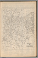 (Continues) Railway Distance Map of the State of Ohio