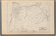 Railway Distance Map of the State of Oregon