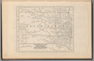 Railway Distance Map of the State of South Dakota