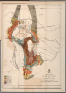 A geological map of the Black Hills: by Professor N.H. Winchell