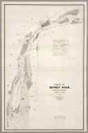 Chart Of Detroit River, From Lake Erie To Lake St. Slair