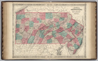 Johnson's Pennsylvania And New Jersey Published By Johnson and Ward.