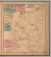 Root, Montgomery County, New York. Spakers Basin. Browns Hollow. Yatesville. Rural Grove. Currytown.