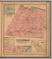 Canajoharie, Montgomery County, New York. Sprout Brook. Marshville. Buel. Vandeusenville. Ames.