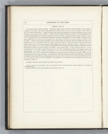 (Text Page) Annotations to the Maps: Geology. III. (continued).