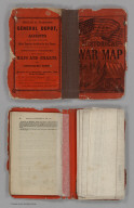 Covers: Military Map Of The Southern States