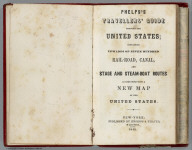 Title Page: Travellers' Guide Through The United States