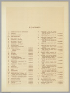 (Table of Contents) Contents. Pergamon World Atlas.