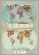 Geology. Tectonics. Pergamon World Atlas.