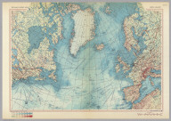 North Atlantic. Pergamon World Atlas. Pergamon Press, Ltd. & P.W.N. Poland 1967. Sluzba Topograficzna W.P.