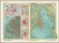 Belgium, Netherlands. The Sound. Pergamon World Atlas. Pergamon Press, Ltd. & P.W.N. Poland 1964. Sluzba Topograficzna W.P.
