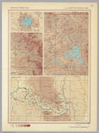 U.S.A. - Selected National Parks. Pergamon World Atlas.