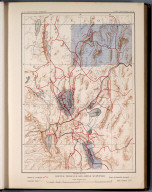 Plate II: Routes traveled and areas surveyed
