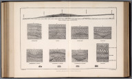 Plate XXIII: Section of Lahontan sediments in Humboldt Canon, Nevada