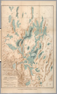 Plate XLVI: Lake Lahontan : a quaternary lake of northwestern Nevad