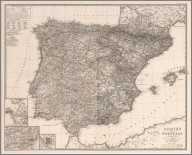Composite: Spanien und Portugal in IV Blattern. (Spain and Portugal).