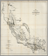 Map of the Public Surveys in California, 1856