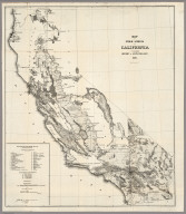 Map of the Public Surveys in California, 1857