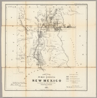 Sketch of Public Surveys in New Mexico 1863
