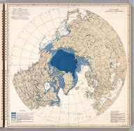 Ice Chart, Northern Hemisphere, January.