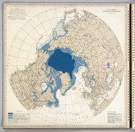 Ice Chart, Northern Hemisphere, February.