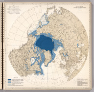 Ice Chart, Northern Hemisphere, March.