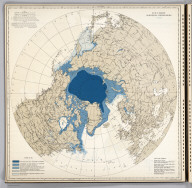 Ice Chart, Northern Hemisphere, April.