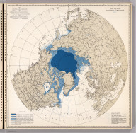 Ice Chart, Northern Hemisphere, May.