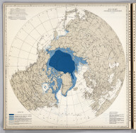 Ice Chart, Northern Hemisphere, June.