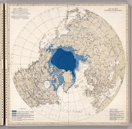 Ice Chart, Northern Hemisphere, November.