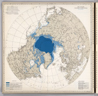 Ice Chart, Northern Hemisphere, December.