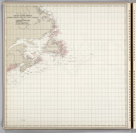 Grand Banks Region, Index Chart for Ice Data Tables