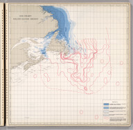 Ice Chart, Grand Banks Region, May.